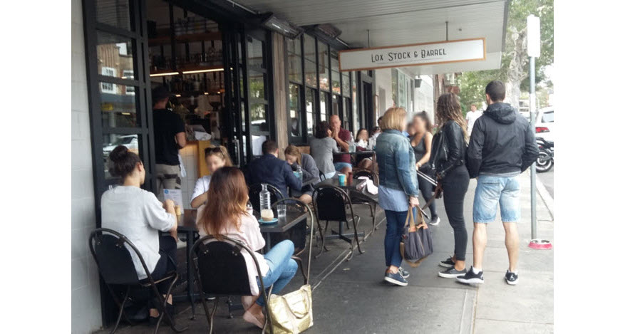 breakfast in bondi - top 5 cafes